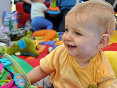 aire de jeu joie bébé